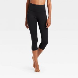 Contour Power Waist High-Rise Capri Leggings