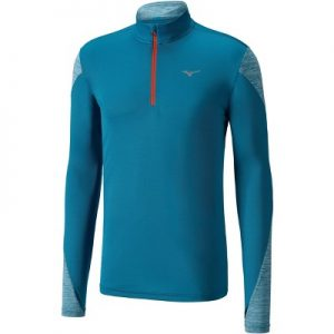 Mizuno Men's Alpha 2.0 Half Zip Long Sleeve Running Shirt