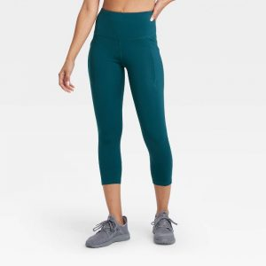 Sculpted High-Rise Capri Legging